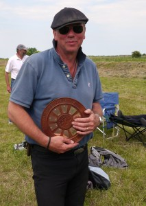 Roger with the Elementary Tolt Trophy in 2014